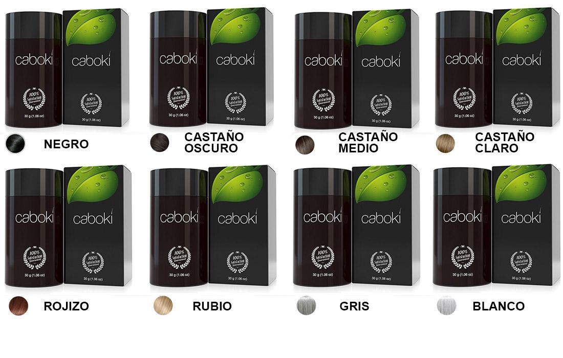 Gama Colores Caboki